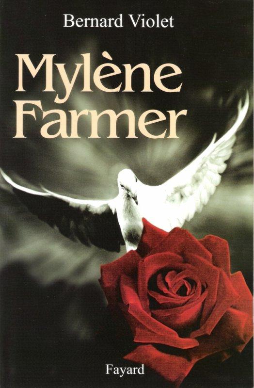 couverture de la biographie de Mylène Farmer par Bernard Violet (2004)