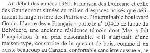Extrait de la page 21 de la biographie (2004) de MF par Bernard Violet & la maison de Pierrefonds