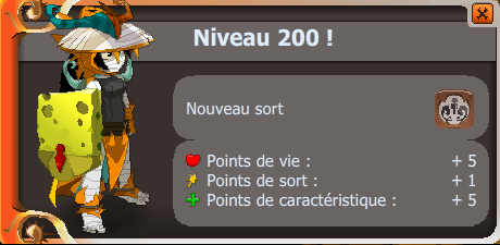 Le voila le up 200 XD