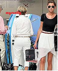 El' et Louis a leur départ de NICE et un look topshop total pour Eleanor  ;  SWAG !!!!