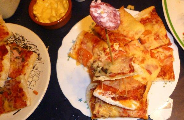 Pizza Maison pour fête d'enfer!
