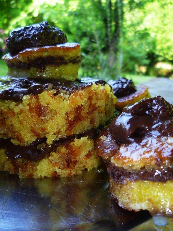 Petits gâteaux à la mousse au chocolat, ou comment rattraper le gâteau au yaourt de Maman :)