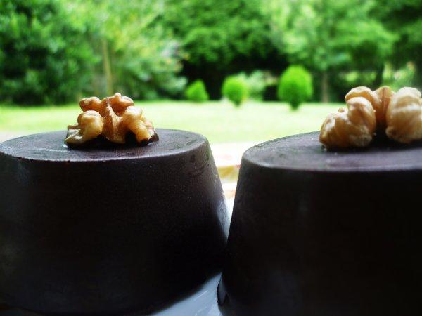 Coques surprise au chocolat