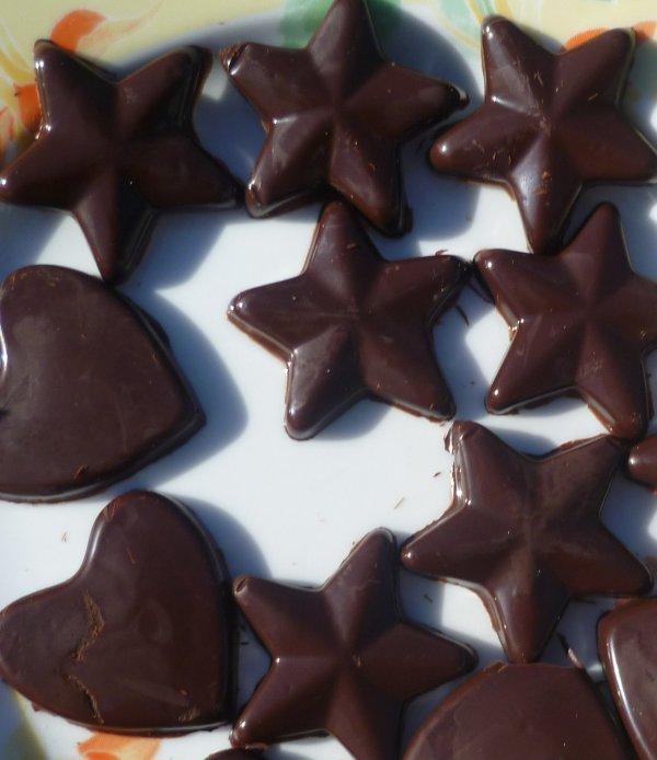 Petits chocolats juste comme ça!