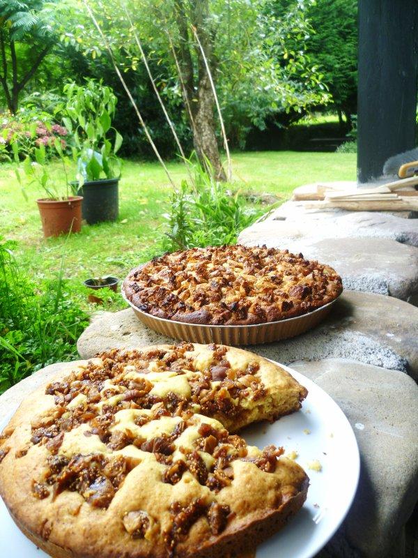 Gâteau au Brocciu et aux figues sèches