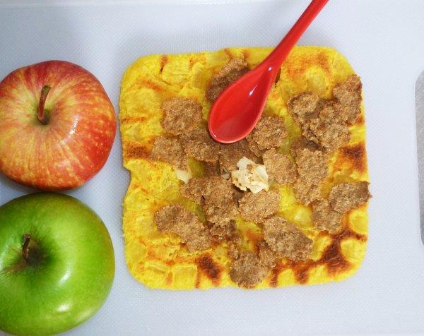 Gâteau au yaourt à la pomme au micro onde