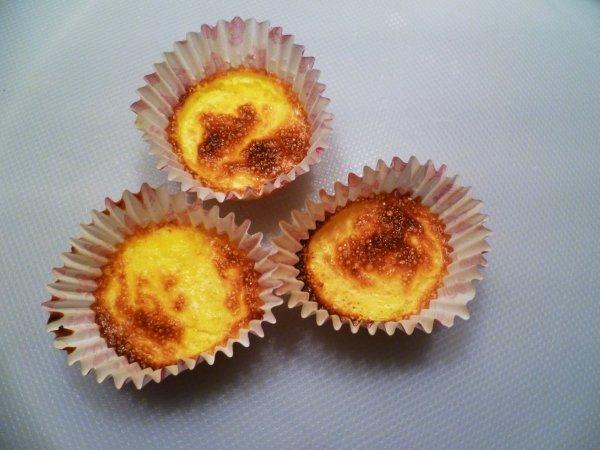 Mini crèmes brûlées aux pommes