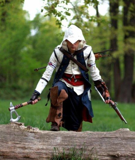 Assassin S Creed Iii Connor Kenway Cosplay Ellysa Cosplay World