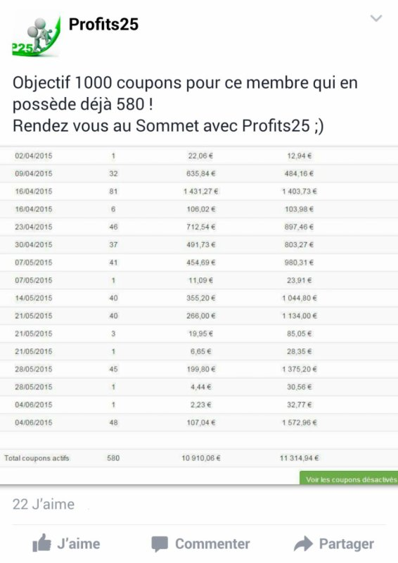 Virement profits25.