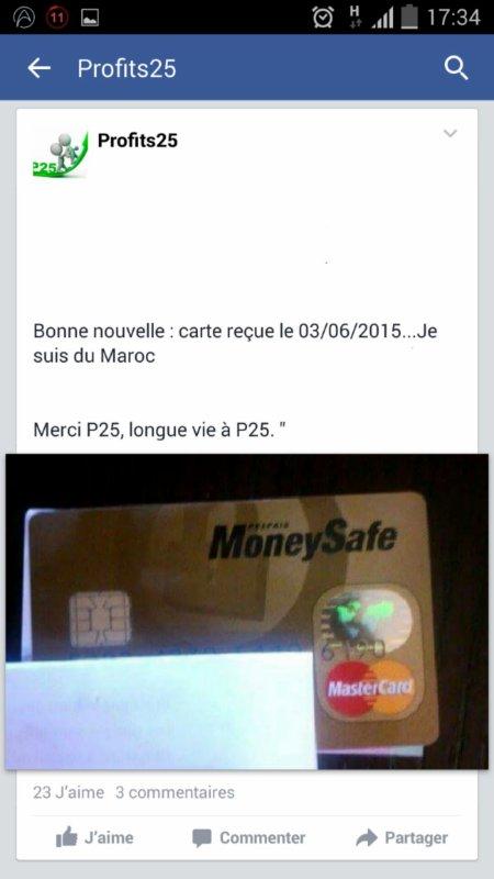 Profits25 cartonne également en Algérie.