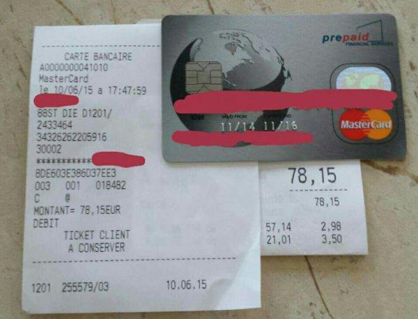 Paiement courses avec la carte pfs de profits25.