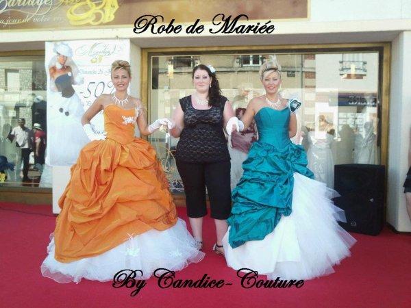 Robe de mariée by Candice-Couture