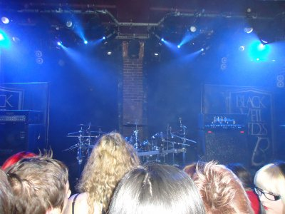 Concert Black Veil Brides & Yashin 15 / 10 /11