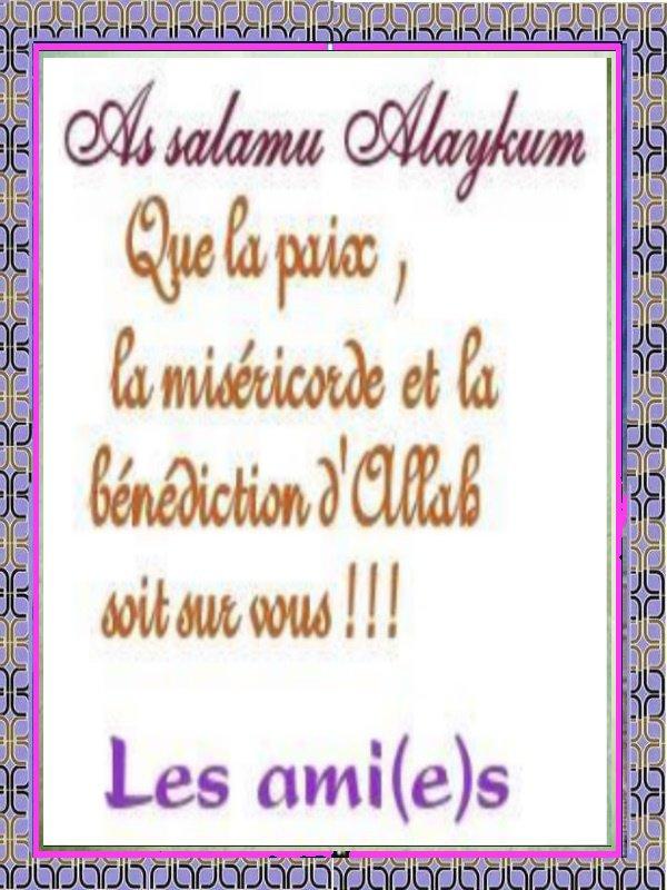 assalamou3alaykom