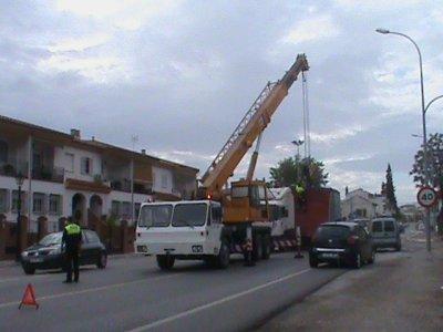 SE LE ESCAPO EL SEMI-REMOLQUE DE LA TRACTORA!!!