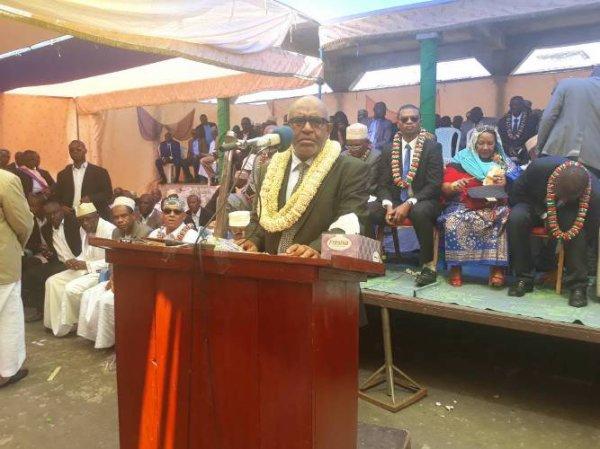 Le chef de l'Etat à Ndzuani : Un message de gratitude aux habitants de l'île