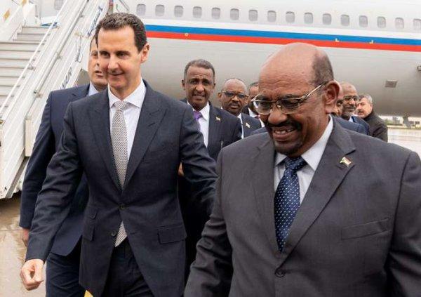 Le Soudanais Omar Al-Bachir, poisson-pilote de Moscou à Damas