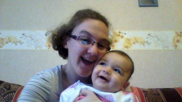 ma p'tite soeur et moi :)