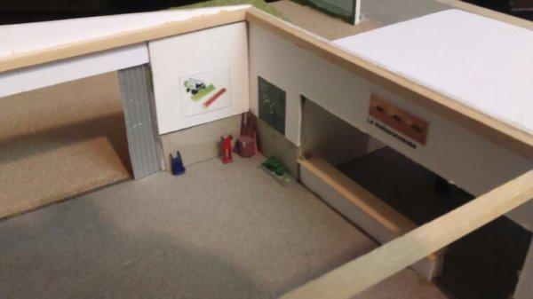Intérieur de l'atelier