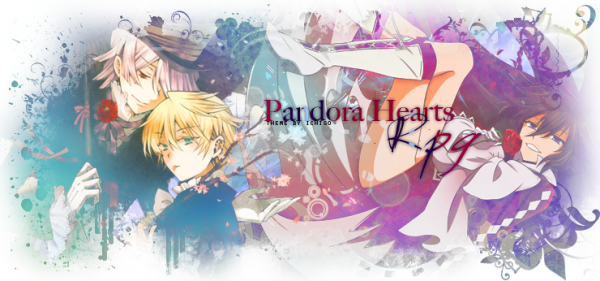 Bienvenu sur Pandora-Hearts-manga