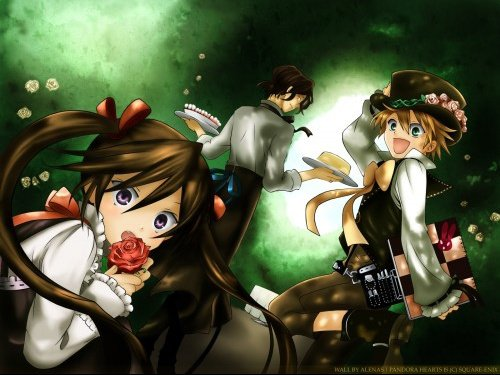 Oz, Alice et Gilbert.