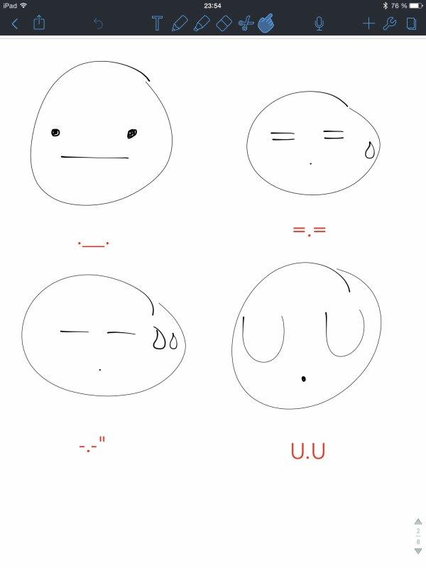 Les Smileys Nippons pour Perdus de la Vie comme Moi ! *^*