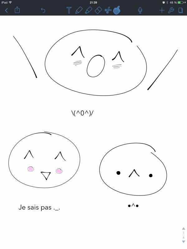 Smileys Nippons 2 O0O (Et un peu de wtf ._.)