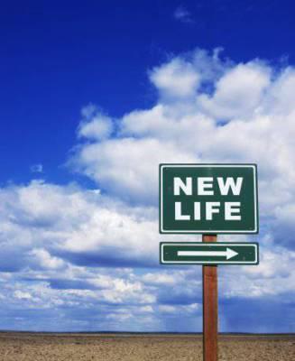 Nouvelle vie; nouveau départ.