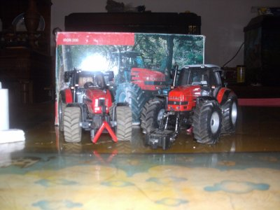 les demx tracteur de non papa les demx same