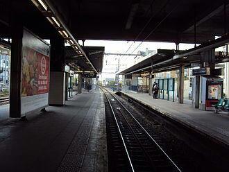 La gare de La Varenne-Chennevières