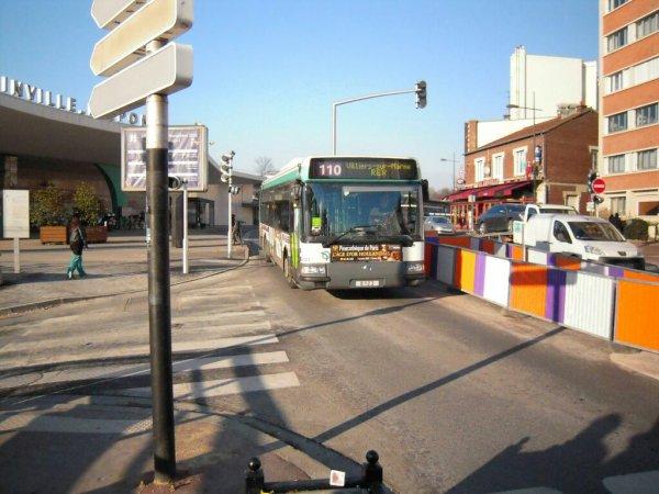 Bus 110 pour Villiers-sur-Marne - Le-Plessis-Trevise RER