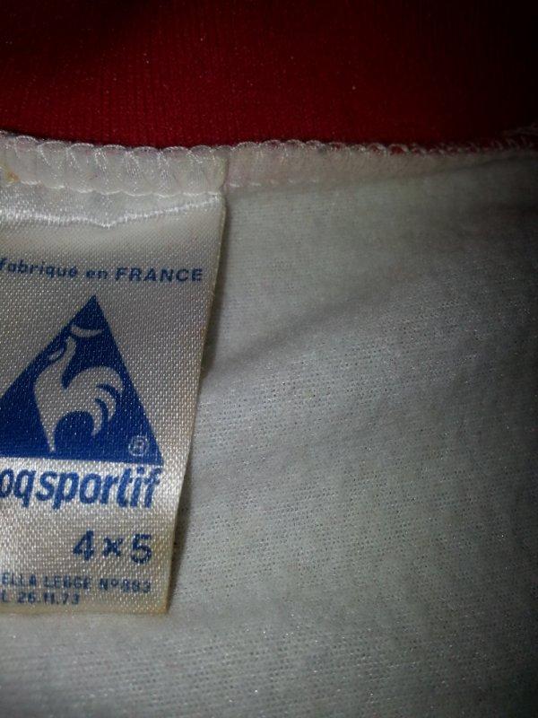 Maillot de l'AS NANCY porté en COUPE DE FRANCE dans les années 70/80