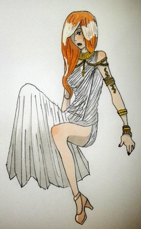 Gaïa, la déesse mère.