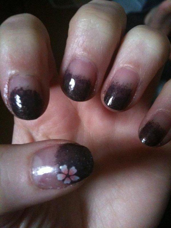 New Gradient Nail Art !