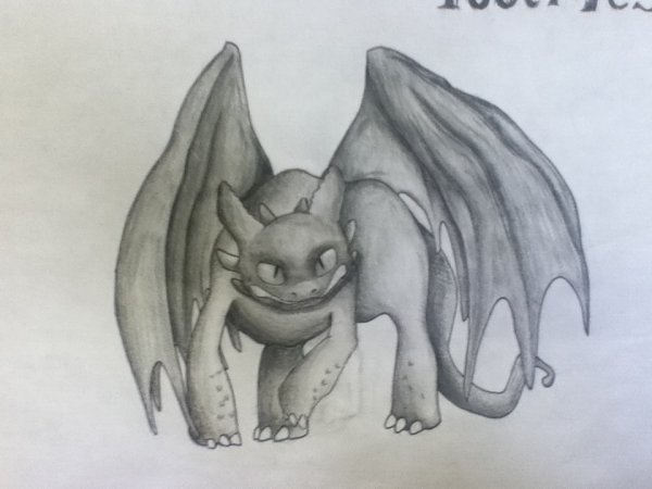 Toothless: Prise 2 («Back off!» Toothless)
