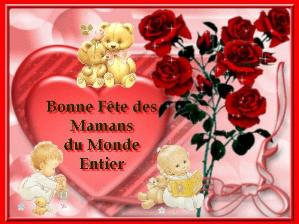 Bonne F Te A Toute Les Maman Bisous A Vous Tous