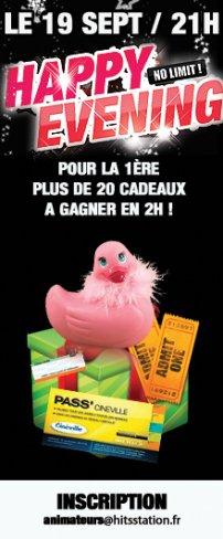 PLUS DE 20 CADEAUX A GAGNER EN 2H POUR L'OUVERTURE !