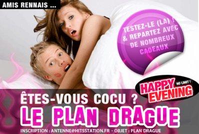 Happy Evening : Le plan drague