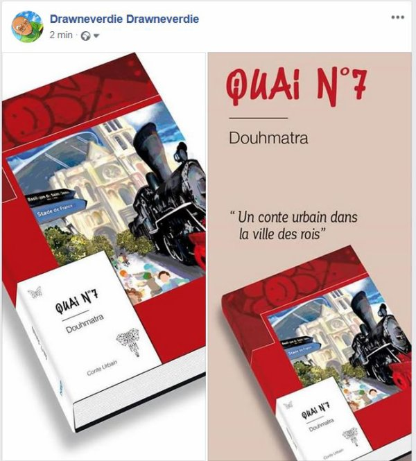 QUAI N°7 le roman de douhmatra