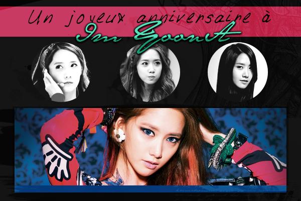 Un joyeux anniversaire à Yoona