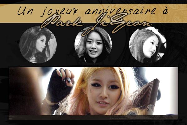 Un joyeux anniversaire à Ji Yeon