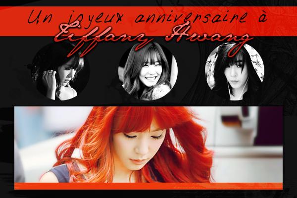 Un joyeux anniversaire à Tiffany Hwang
