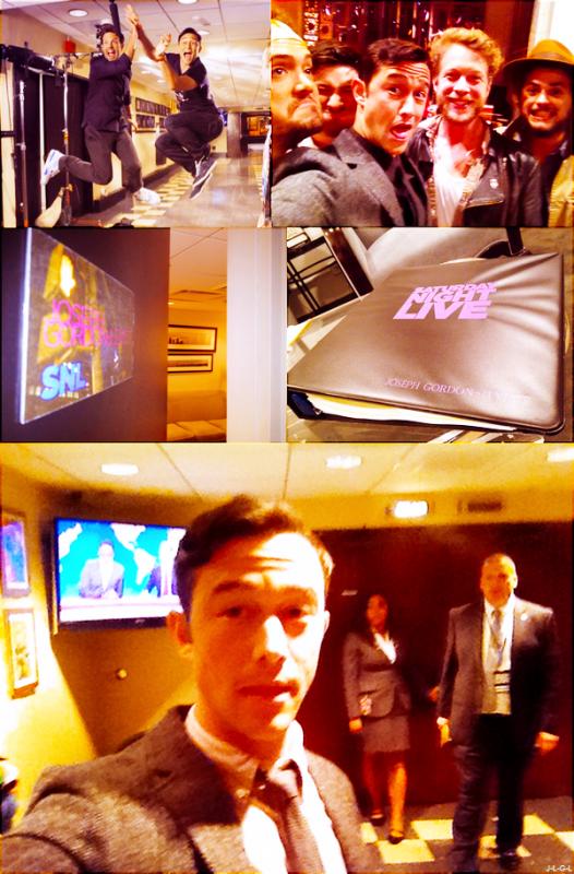 Joseph dans les coulisses du Saturday Night Live + autre apparitions ♥