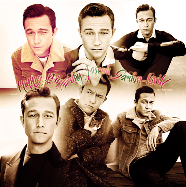 Happy Birthday Joseph Gordon Levitt ♥