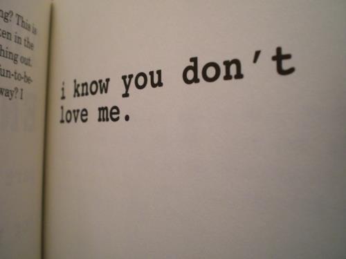 Je le savais que tu ne m'aimais pas , mais je voulais y croire juste un peu .