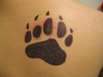 tatoo patte ours tatouages tatoo le plus gros skyblog de. Black Bedroom Furniture Sets. Home Design Ideas
