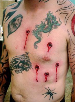 Tatouage cicatrisation trou