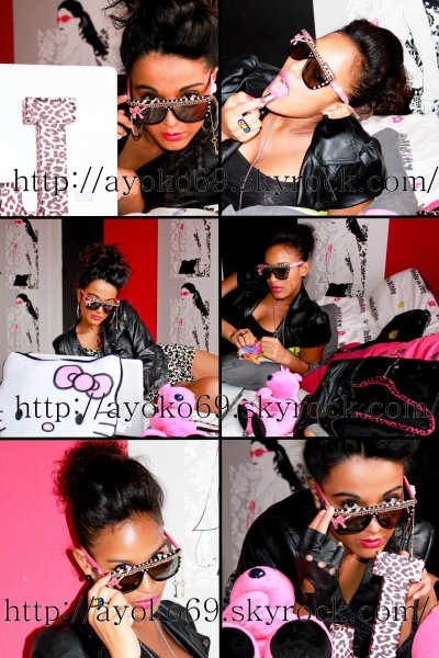 Shooting J & A (presentation sunglasses & chains) Workshop customization at home !!! by Ayoko