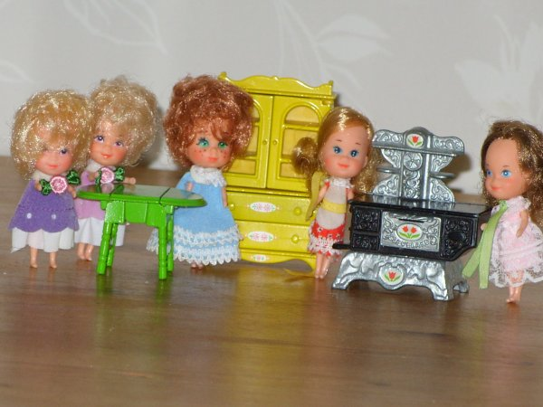 Liddle Kiddles 1980's