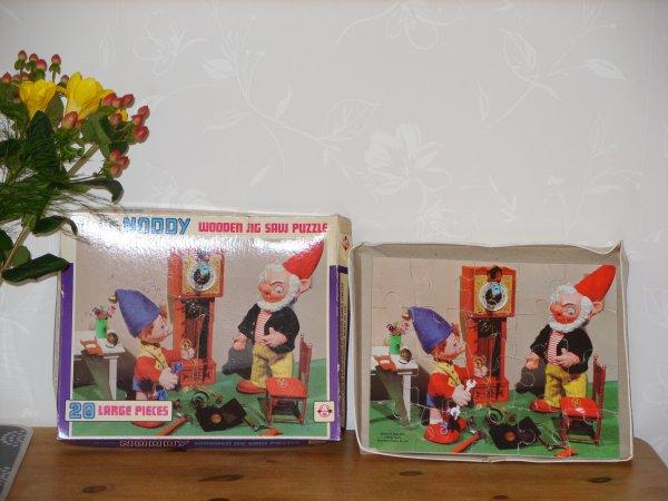 Puzzle en bois Oui-Oui de 1969...